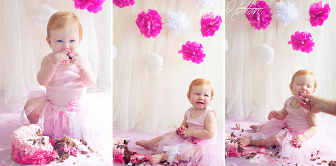 Rockhampton Baby Photographer ~ Fone Cake Smash